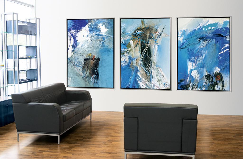 art at work. Black Bedroom Furniture Sets. Home Design Ideas